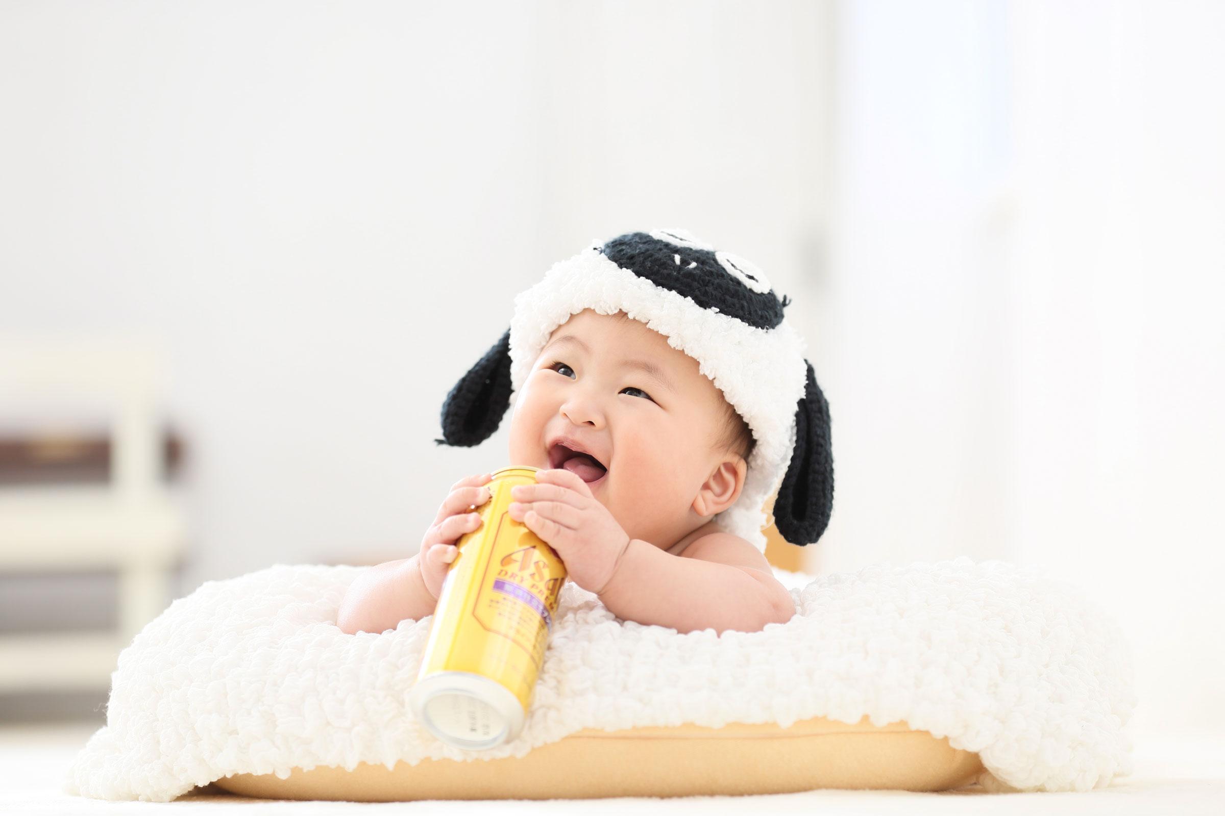 〇〇に反応する赤ちゃん