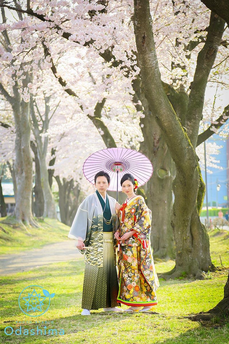 ウェディング&桜&ガーランド 〜1〜
