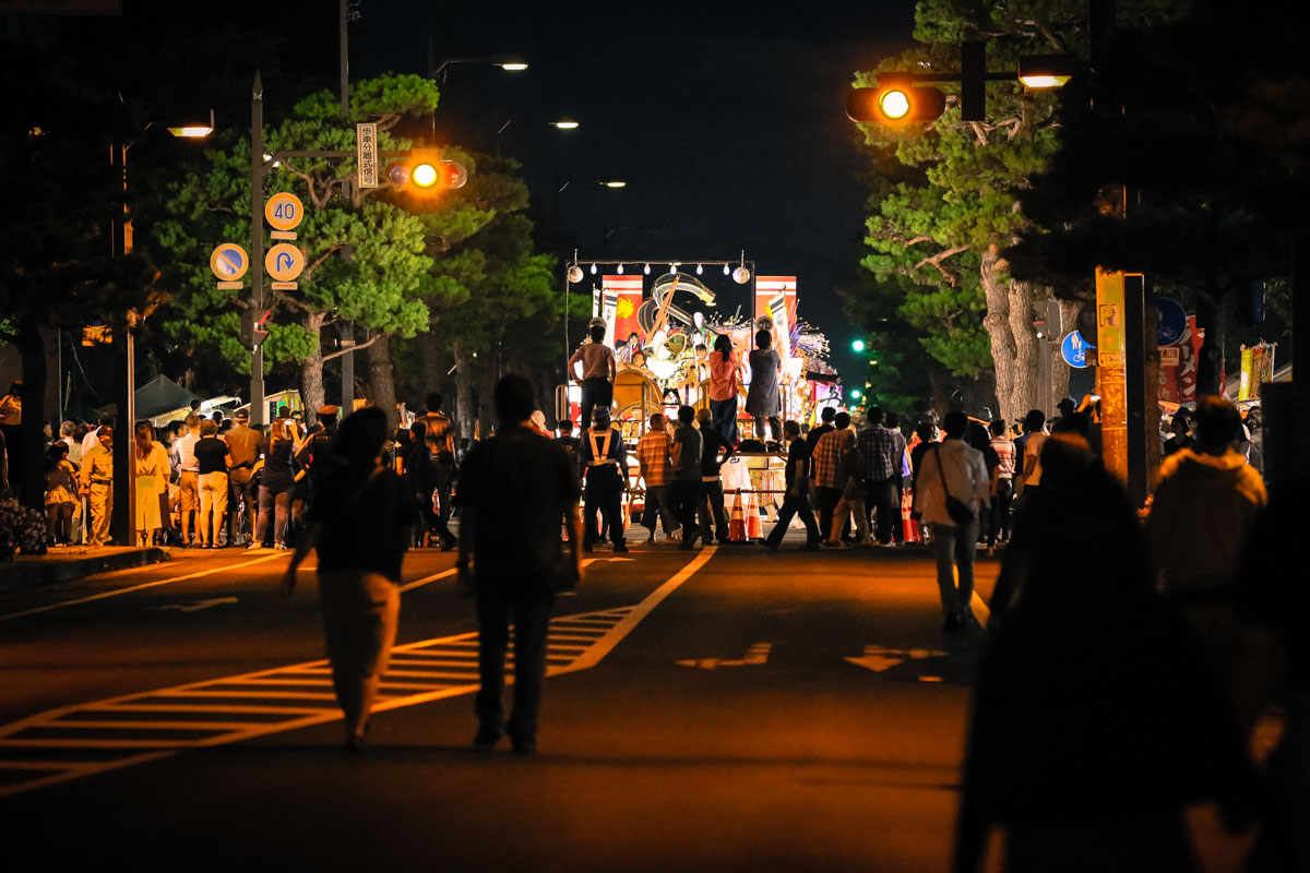 2017十和田市秋祭りを激写!夜間運行!!の巻〜